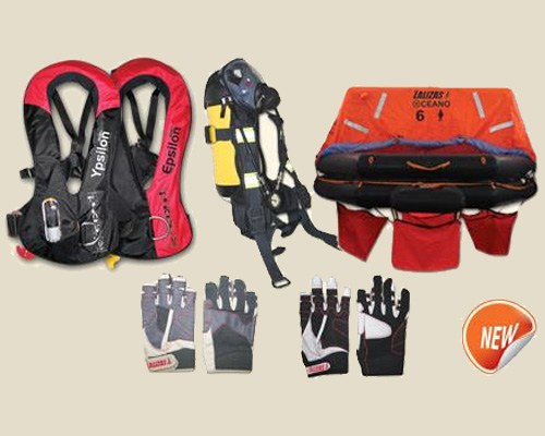 New marine safety equipment products by LALIZAS