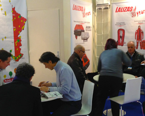 LALIZAS - Salon Nautique de Paris 2012 Exhibition