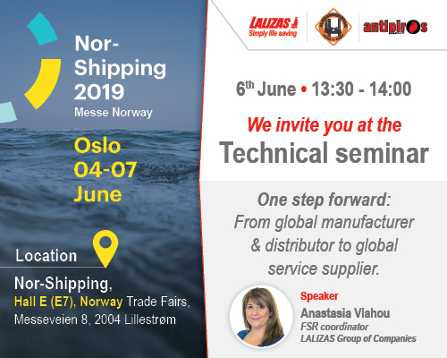 LALIZAS participating in Nor-Shipping Technical Seminars