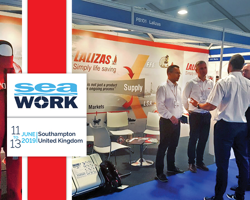 Our pace of innovation has been widely confirmed at Seawork International 2019