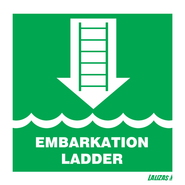Lalizas Imo Signs Embarkation Ladder