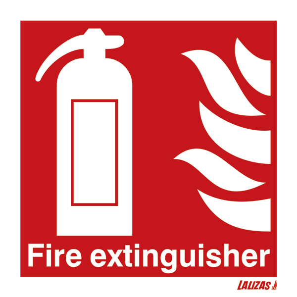 Lalizas Imo Signs Fire Extinguisher