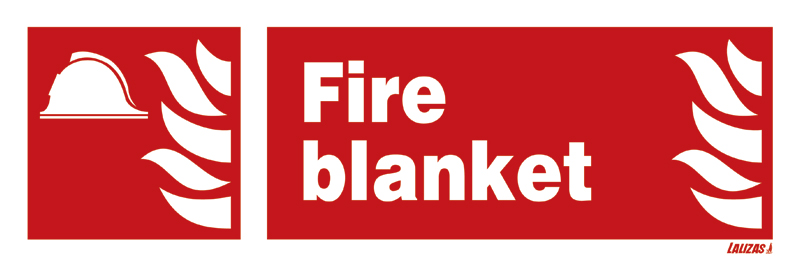 Lalizas Imo Signs Fire Blanket