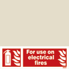 For Use On Electrical Fires (10x30)