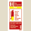 Fire Extinguisher Foam (10x20)