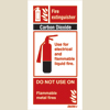 Fire Extinguisher Carbon Dioxide (10x20)
