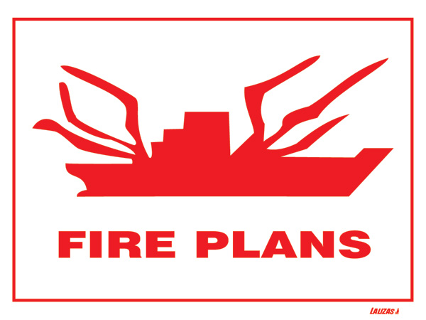 Lalizas imo signs fire plans for Fire plans