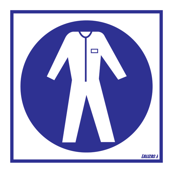 Lalizas Imo Signs Wear Protective Clothing
