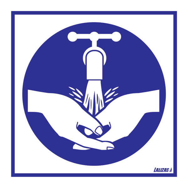 Lalizas Imo Signs Wash Your Hands