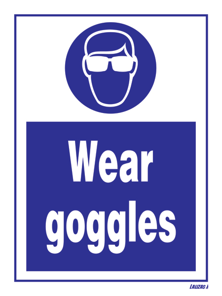Lalizas Imo Signs Wear Goggles