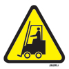 Caution Fork Lift Truck