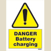 Danger - Battery Charging