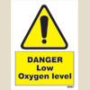 Danger Low Oxygen Level