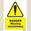 Danger - Moving Machinery