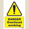 Danger - Overhead Working