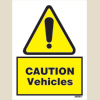 Caution - Vehicles