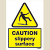 Caution - Slippery Hazard
