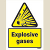 Caution - Explosive Gases