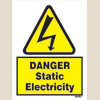 Danger Static Electricity (15x20)
