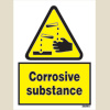 Danger - Corrosive Substance