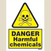 Danger Harmful Chemicals (15x20)