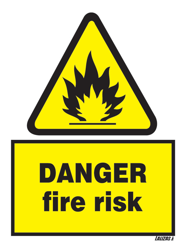 Lalizas Imo Signs Danger Fire Risk