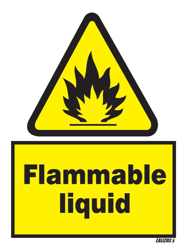 Lalizas Imo Signs Flammable Liquid