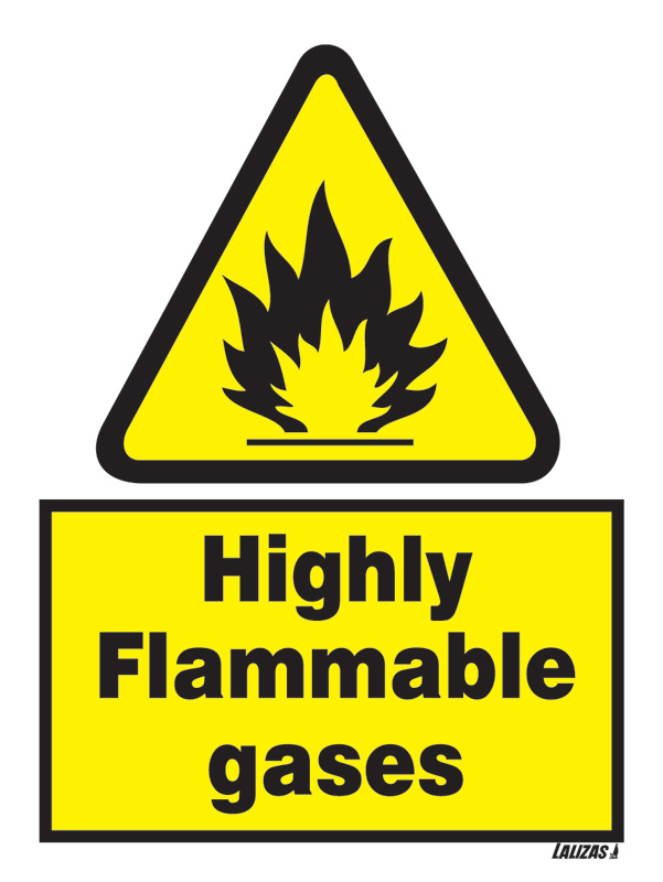 Gas Hazard Signs And Symbols Clipart Library