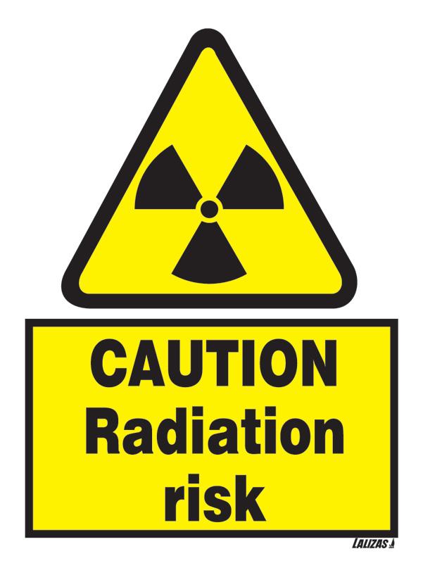 Warning Sign Radiation Hazard