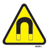 Caution-strong Magnetic Field