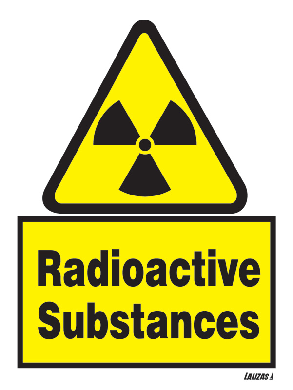 Lalizas Imo Signs Radioactive Substances