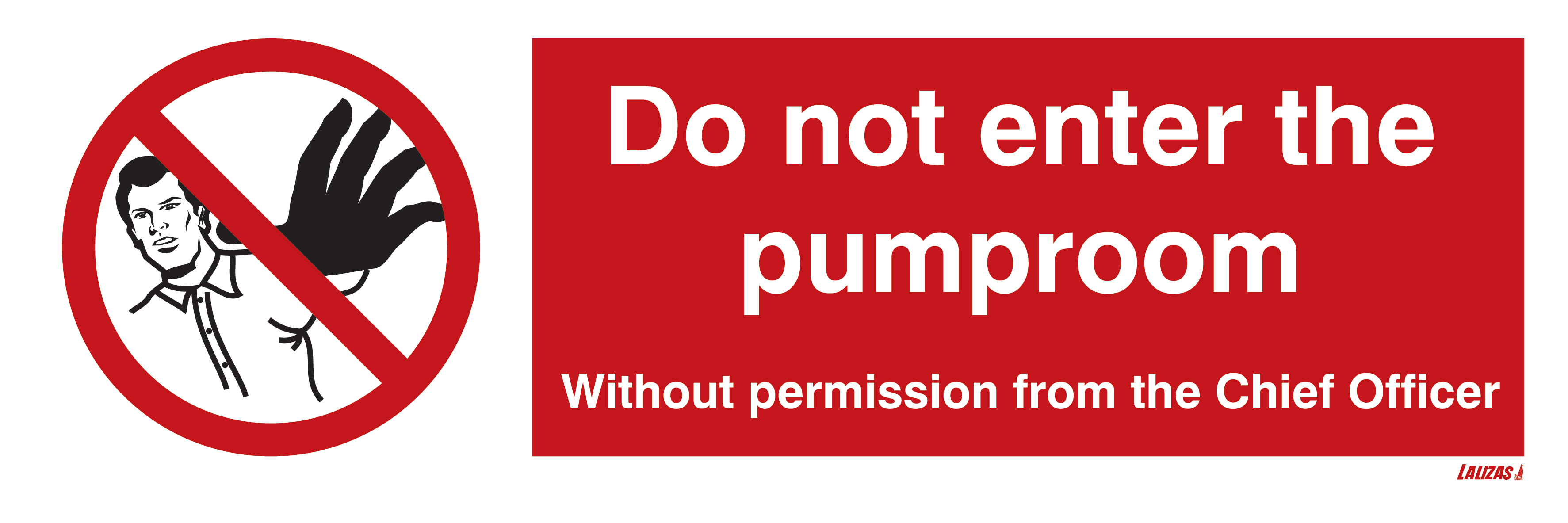 Do Not Enter The Pump Room