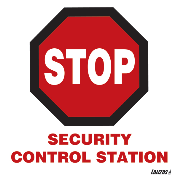 Stop - Security Control Station