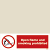 Open Flame And Smoking Prohibited