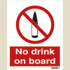 No Drink On Board