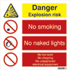 Danger Explosion Risk