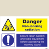 Danger Non Ionizing Radiation