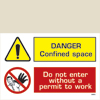 Danger - Confined Space