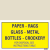 Paper-rags-glass-metal-bottles-crockery