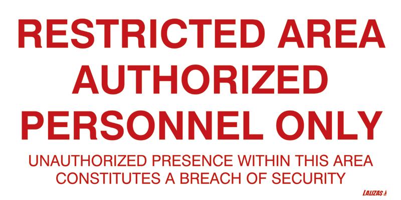 Как вводить коды в restricted area