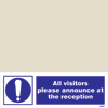 Isps - Visitors Announce At Reception