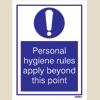 Personal Hygiene Rules (15x20)