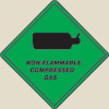 Non-flammable Compressed Gaz