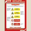 Enclosed Space Entering Safety Signs - Poster