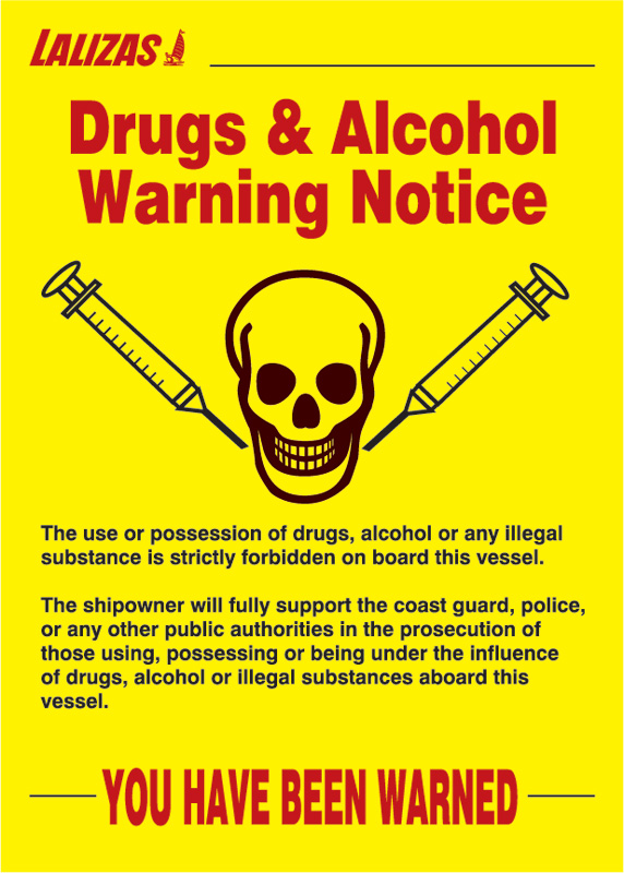 Lalizas Imo Signs Drugs Amp Alcohol Poster