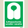 Lifejackets Under Seats