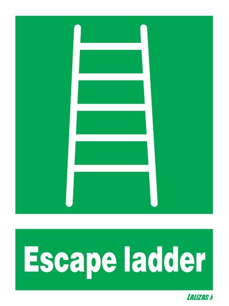 Lalizas Imo Signs Escape Ladder