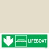 Lifeboat Down Left
