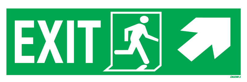 Exit Left-man Run Right-arrow Up/right