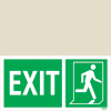 Exit Left-man Run Right-boxes